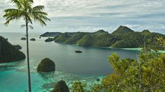 WEST PAPUA  The view from the top of Pulau Wayag Island in West Papua, the least populous province in Indonesia.