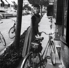 audrey + bike