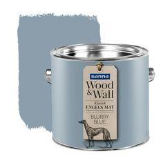 GAMMA Wood&Wall krijtverf Blurry Blue 2,5 liter | Muurverf kleur | Muurverf | Verf | GAMMA