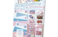 Baby Scrapbooking and Decoration Set Scrapbooking Supply Decorative Paper Embossed Shapes by ScrapbookingSupply on Artsy Central