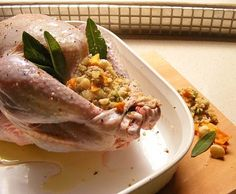 Scrumptious South Africa: Mango and Macadamia Turkey Stuffing with Sage and Sausage Meat