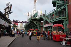 Fenway Park, Welcome, Red Sox VS Orioles, Boston, USA