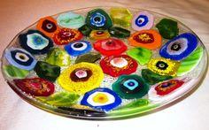 Floral Flat Bowl