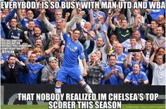 Top scorer of the season with 23Goals for the club #CFC #TORRES looool!