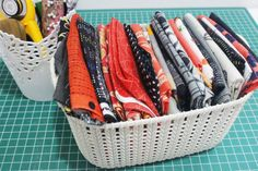 25 organizing ideas for sewing room - The Little Mushroom Cap: A Quilting Blog Sewing Room Organization, Craft Room Storage, Organization Hacks, Organizing Ideas, Storage Ideas, Bobbin Storage, Fabric Storage, Backing A Quilt, Scrappy Quilts