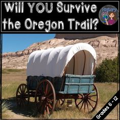 Oregon Trail: Will You Survive?This fun Oregon Trail activity simulates the obstacles faced by pioneers traveling westward. This student favorite is also a great cross-curricular activity as students have to buy supplies and manage their budget. And, it fits great into any westward expansion lesson.It includes:-47 slide Oregon Trail simulation game (1997-2003 PowerPoint, 2016 PowerPoint, and Google Slide versions are included)-Oregon Trail supply price list (2 pages, also includes fillable…