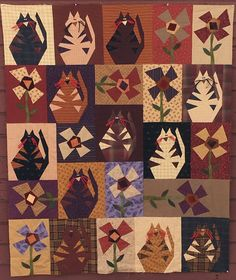 """Crazy Cats   Many of you have been lamenting the loss of the Crazy Cats pattern, since both Buggy Barn books, """"That Crazy Thing..."""