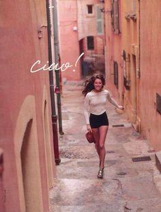 "Lifestyle // Movement // Location // Life in pics: Editorials: ""Summer fun"" with Emily Didonato Italian Life, Italian Girls, Italian Women Style, Italian Style Fashion, Italian Chic, Everyday Italian, Italian People, Italian Street, Italian Beauty"