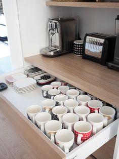 Heavenly Kitchen design layout galley,Kitchen remodel advice and Small kitchen remodel cost bay area tricks. Kitchen Pantry Design, Kitchen Organisation, Diy Kitchen Storage, Modern Kitchen Design, Home Decor Kitchen, Kitchen Furniture, Kitchen Interior, Home Kitchens, Kitchen Drawers