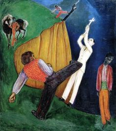 Execution Nils Dardel (1919) Private collection Painting - oil on canvas