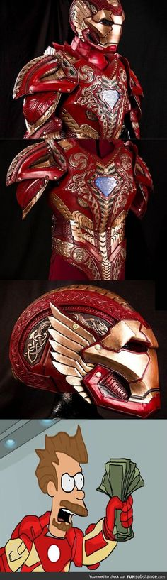 I need this one... Asgardian Iron Man