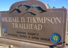 Latintos: Michael D. Thompson Trailhead named after Reno High ...