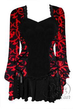 Dare To Wear Victorian Gothic Women's Plus Size Bolero Corset Top Lust