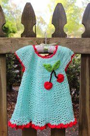 Harris Sisters GirlTalk: Retro Cherry Baby Dress