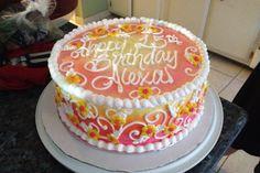 Birthday Cake - Ambra, yellow, to orange to pink