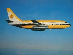 Royal Brunei Airlines was established on 18 November 1974 with two new Boeing 737-200s. The airline's first flight was on 14 May 1975 from the newly built Brunei International Airport to Singapore. Flights to the then British colony of Hong Kong and the city of Kota Kinabalu and Kuching in East Malaysia (Malaysian Borneo) started the same day. Three years later, Royal Brunei acquired a Boeing 737-200QC – its third Boeing 737