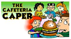 The Cafeteria Caper - one of Math Maven's Mysteries - FREE from Scholastic - I love these math mysteries for kids!