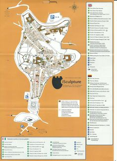 San Gimignano map