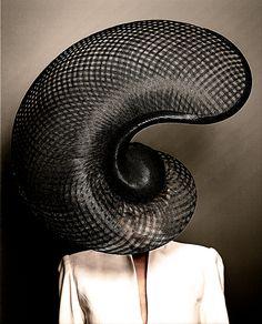 Philip Treacy  Hats by Chuck Bogana, via Behance