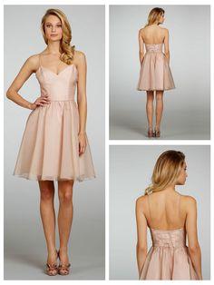 Halter A-line V-neck Short Bridesmaid Dress with Lace-up Back http://www.ckdress.com/halter-aline-vneck-short-bridesmaid-dress-with-  laceup-back-p-1020.html?zenid=6e935a27cd6567be7d4b83ce87e474f8  #wedding #dresses #dress #lightindream #lightindreaming #wed #clothing   #gown #weddingdresses #dressesonline #dressonline #bride