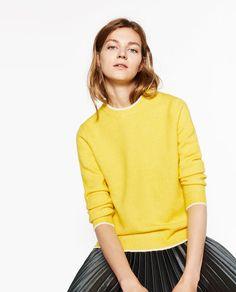 ROUND NECK SWEATER-Sweaters-KNITWEAR-WOMAN | ZARA Romania