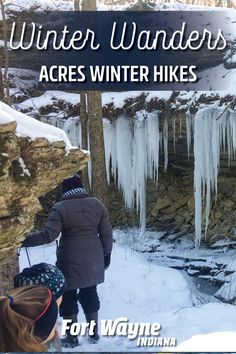 Feeling cooped up and stressed out this winter? Find fresh air, peace and renewal with a brisk winter hike in Fort Wayne, Indiana. Fort Wayne Indiana, Winter Hiking, Day Hike, Outdoor Adventures, Acre, Wander, Backdrops, Fresh, Backgrounds