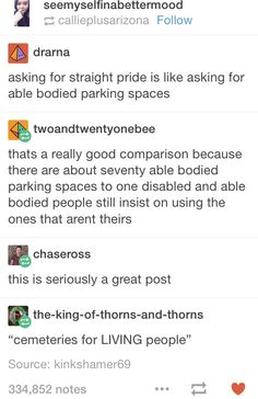 Asking For Straight Pride