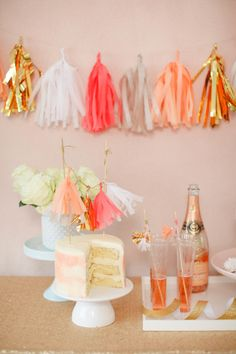 Tassels for days! http://www.stylemepretty.com/2015/04/20/diy-decorative-tassels/ | Photography: Ruth Eileen - http://rutheileenphotography.com/