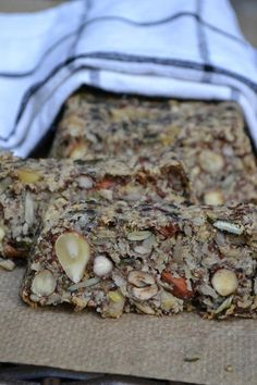 Fitness-Nuss-Brot © The Recipe Suitcase