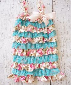 4f173648a3f1 Party Ruffle Cake Smash Outfit - tons of color choices. Baby Girl Birthday  OutfitBaby Girl RomperBaby ...