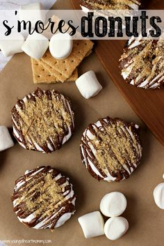 Young At Heart Mommy: S'mores Donuts