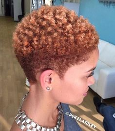 Natural Short Hairstyles New See 17 Hot Tapered Short Natural Hairstyles  Teeny Weeny Afros