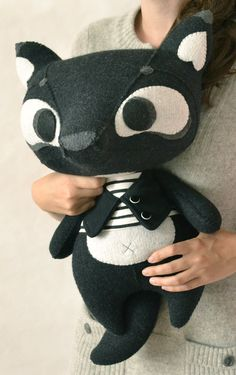 Black Wolfy by MarieChou on Etsy, $160.00