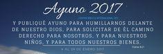 21 Días de Ayuno y Oración en Centro Bíblico Internacional San Pedro Sula