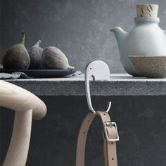 Would love tthese for hanging stockings?! Elephant bag hanger by Georg Jensen.