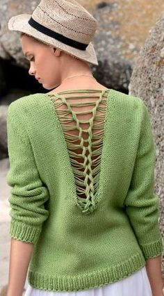 Ooh, air vents in sweater. awesome for hot flashes.hehe.