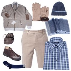 Beige Total look ready for you here in Lucca