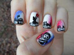 guiltless reading: Les Misérables ... now on your Nails!