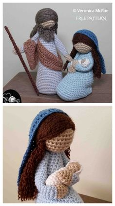 Nativity Set Free Crochet Patterns & Paid - DIY Magazine