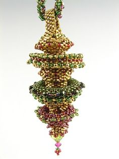 Christmas Decoration Bead Work Kit Decadent Drape in Silver /& Contrasts