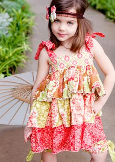 Download Destiny's Triple Ruffle Top Sewing Pattern | Sewing Patterns | YouCanMakeThis.com