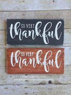 Thankful Wood Sign Fall Decor Happy Fall by ThatInspiredChick Magnolia sky Thanksgiving Wood Crafts, Thanksgiving Signs, Thanksgiving Decorations, Fall Crafts, Diy Crafts, Holiday Signs, Fall Signs, Christmas Signs, Fall Wood Signs
