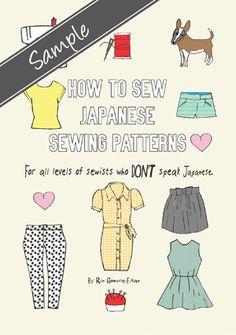 Japanese sewing patterns - Free Peter Pan Collar Floral Dress Sewing pattern