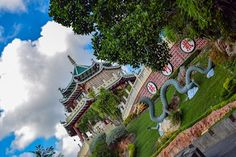 Cebu Taoist Temple is a Taoist temple located in Beverly Hills Subdivision of Cebu City, Philippines. The temple is built by Cebu's substantial Chinese community in 1972.