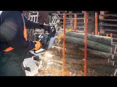 Forest Master Bulk Log Stand 2 - YouTube