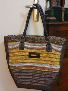 Crotchet, Monogram, Michael Kors, Homemade, Projects, Pattern, Bags, Fashion, Log Projects