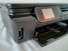 ###VENDU### Prix 50€ - Imprimante multi-fonctions HP Photosmart 5520 (neuf 129€) - 4 cartouches, Wifi, écran tactile,  compatible Google Print / Apple AirPrint, ScanToMail, Wifi direct, ...