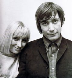 Shirley and Charlie Watts