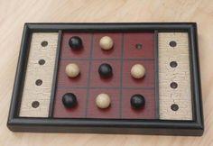 Primitive Game Board Folk Art Antique by JohnnyUNamath