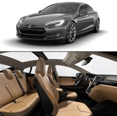 Tesla Electric Car. - UHG absolutely beautiful styling kudos to Tesla designers.